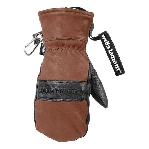 Wells Lamont Brown & Black Guide Mitten