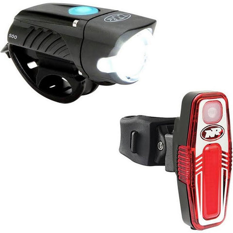 NiteRider- Swift 500 Head Light / Sabre 80 Tail Light Combo