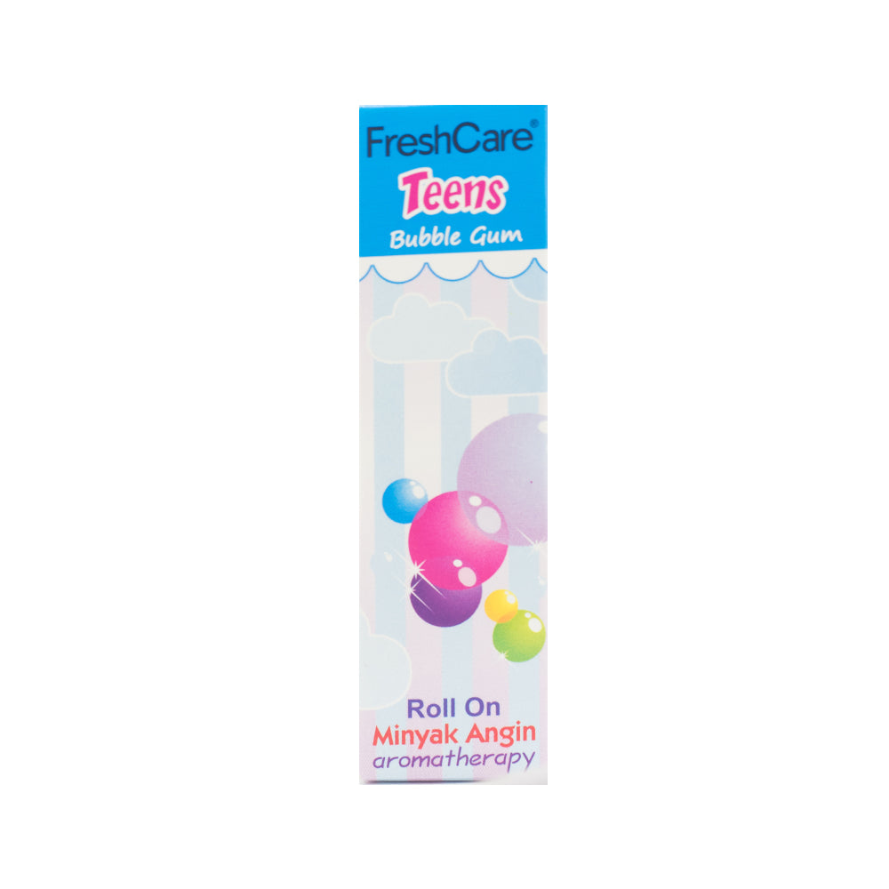 Freshcare, Roll On Teens, Aroma Bubble Gum, 10 ml