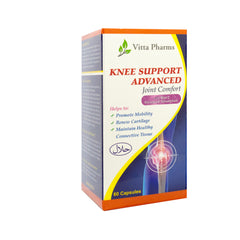 Vitta Pharms, Knee Support Advanced, 60 capsules