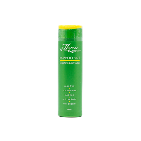 Marine Essence, Bamboo Salt, Body Wash, 250 ml