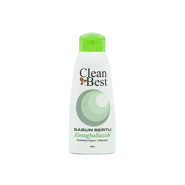 Fiqh Clean Best, Sabun Sertu Pinggan Mangkuk (Utensils), 150 ml