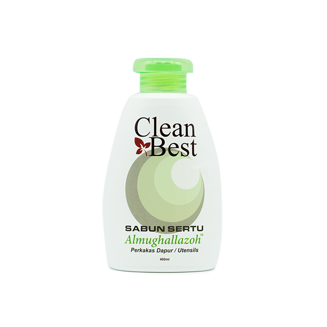 Fiqh Clean Best, Sabun Sertu Pinggan Mangkuk (Utensils), 400 ml