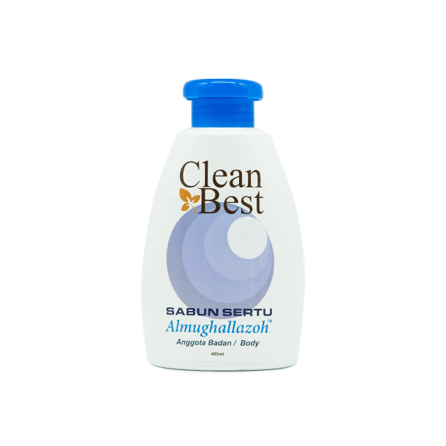 Fiqh Clean Best, Sabun Sertu Anggota Badan (Body), 400 ml