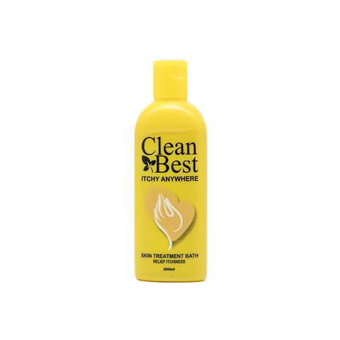 Fiqh Clean Best, Itchy Anywhere Skin Treatment Bath, 200 ml