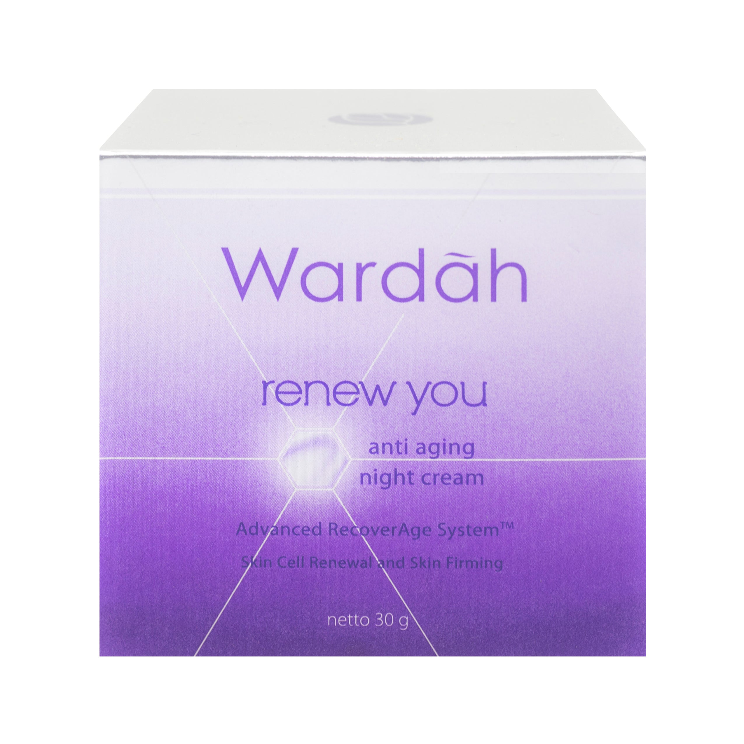 Wardah, Renew You Anti Aging, Night Cream, 30 g