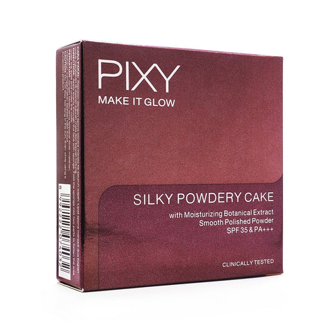 Pixy, Make It Glow, Silky Powdery, 401 Sandy Beige, 10 g