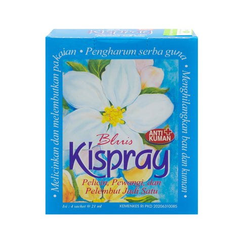 Kispray, Bluis, 3 in 1, 21 ml X 4 sachets