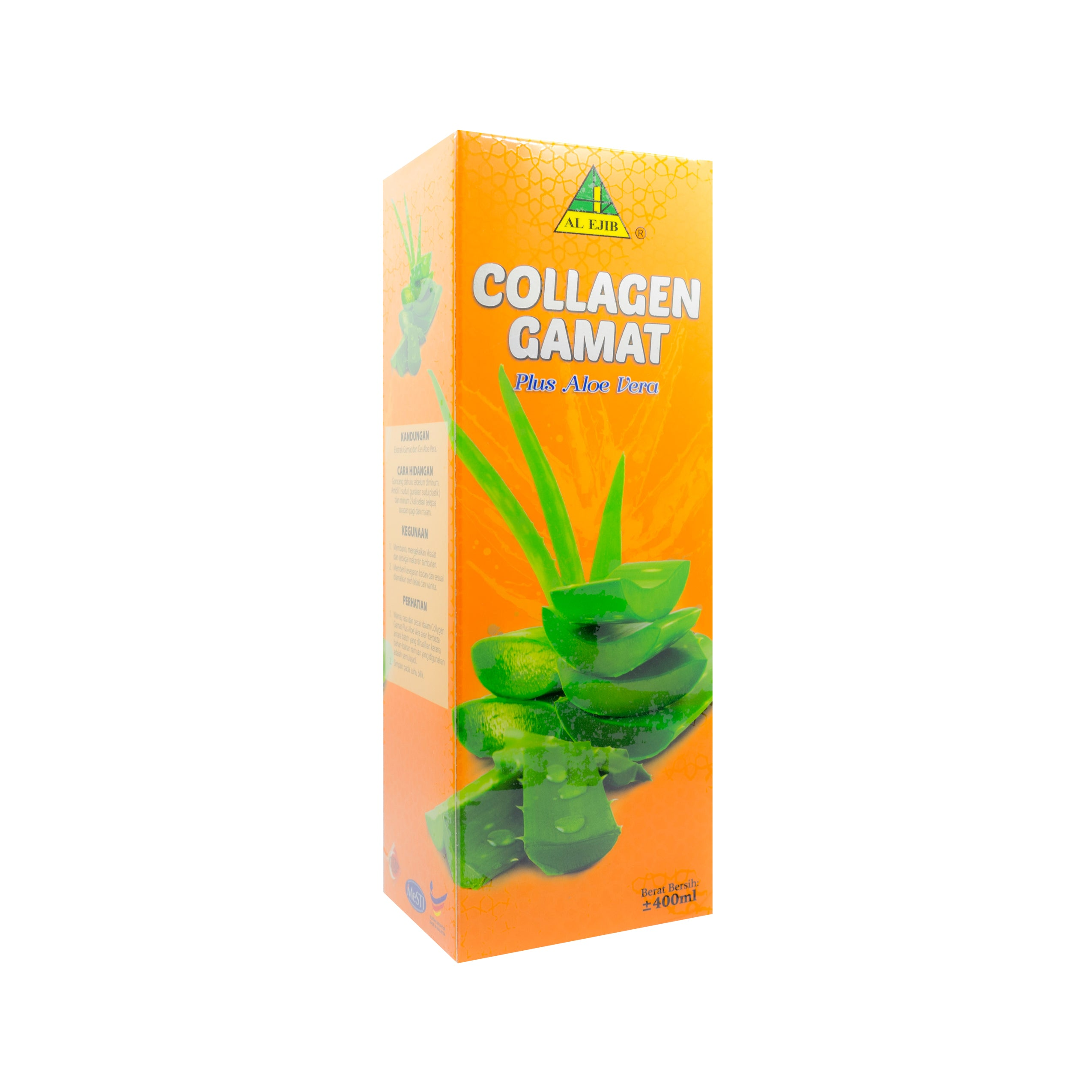 Al Ejib, Collagen Gamat Plus Aloe Vera, 400 ml