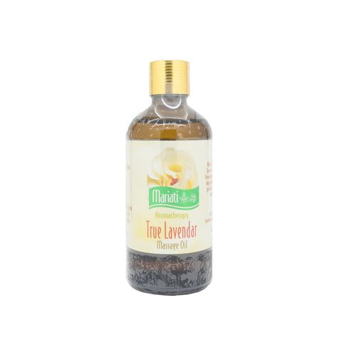 Mariati, Aroma True Lavender, Massage Oil, 100 ml