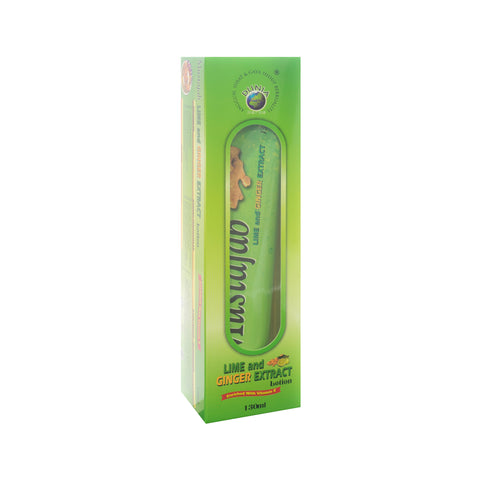 Dunia Herbs, Lotion Mustajab Lime and Ginger Extract, 130 ml