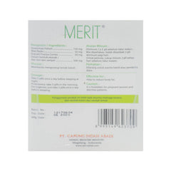 Merit, Natural Body Slimming, 10 sachets X 21 pills