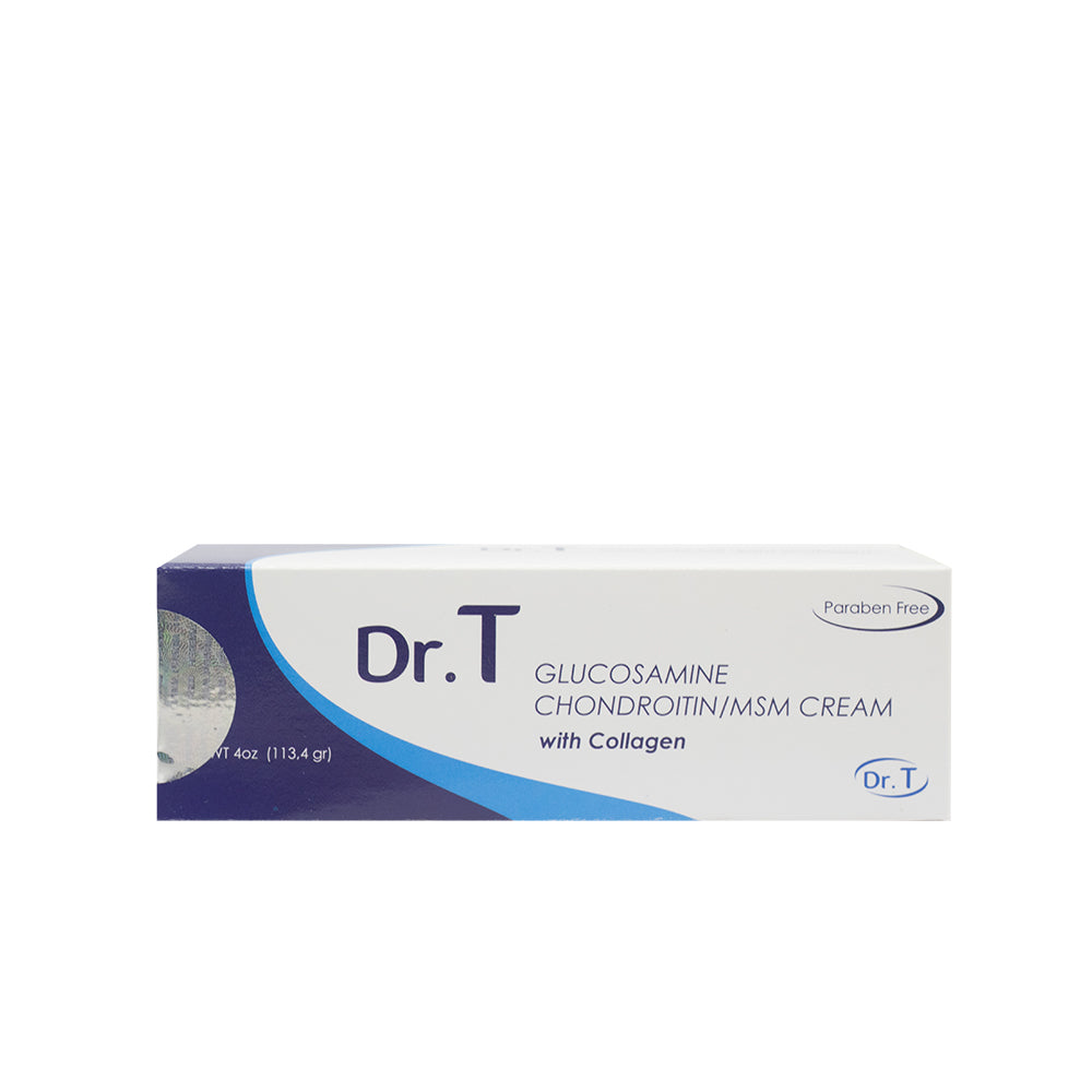 Herbal Pharm, Dr.T Glucosamine With Collagen Cream, 113.4 g