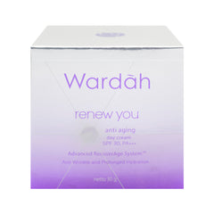 Wardah, Renew You Anti Aging, Day Cream, 30 g