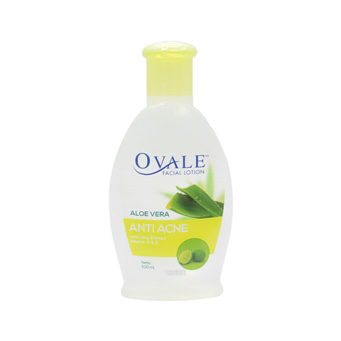 Ovale, Facial Lotion Anti Acne (Lime), 200 ml