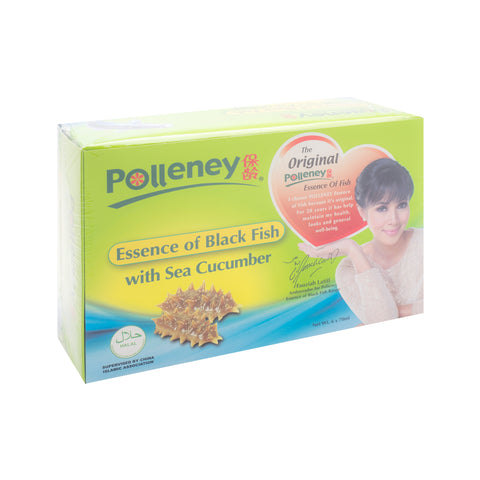 Polleney, Essence of Black Fish, with Sea Cucumber, 70 ml x 6 bottles