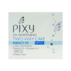 Pixy, Two Way Cake, Perfect Fit Refill, Yellow Beige, 12.2 g