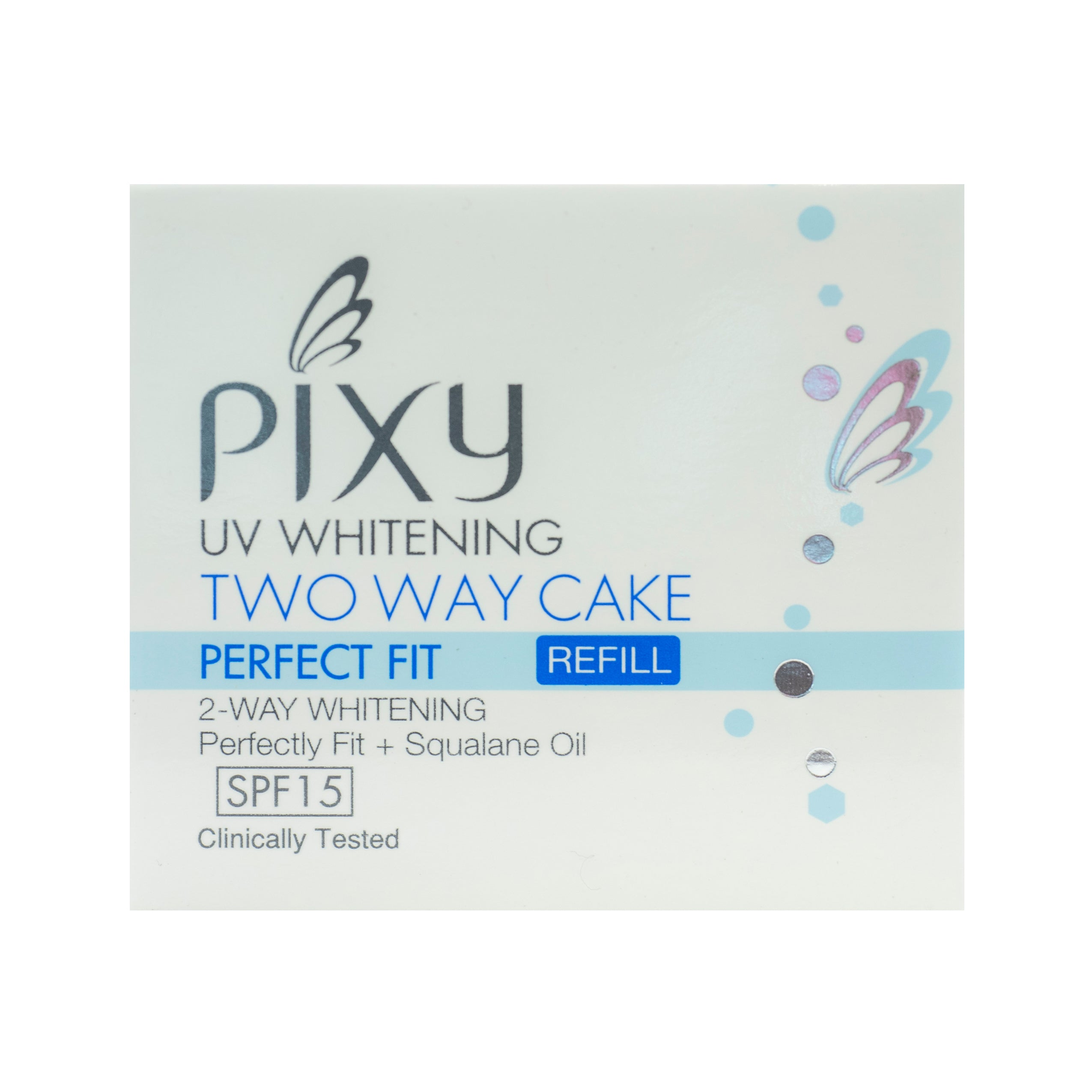 Pixy, Two Way Cake, Perfect Fit Refill, Ivory, 12.2 g