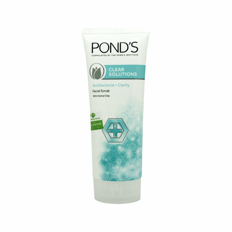 Pond's, Clear Solutions Anti-Bacterial + Clarity Facial Scrub, 100 g