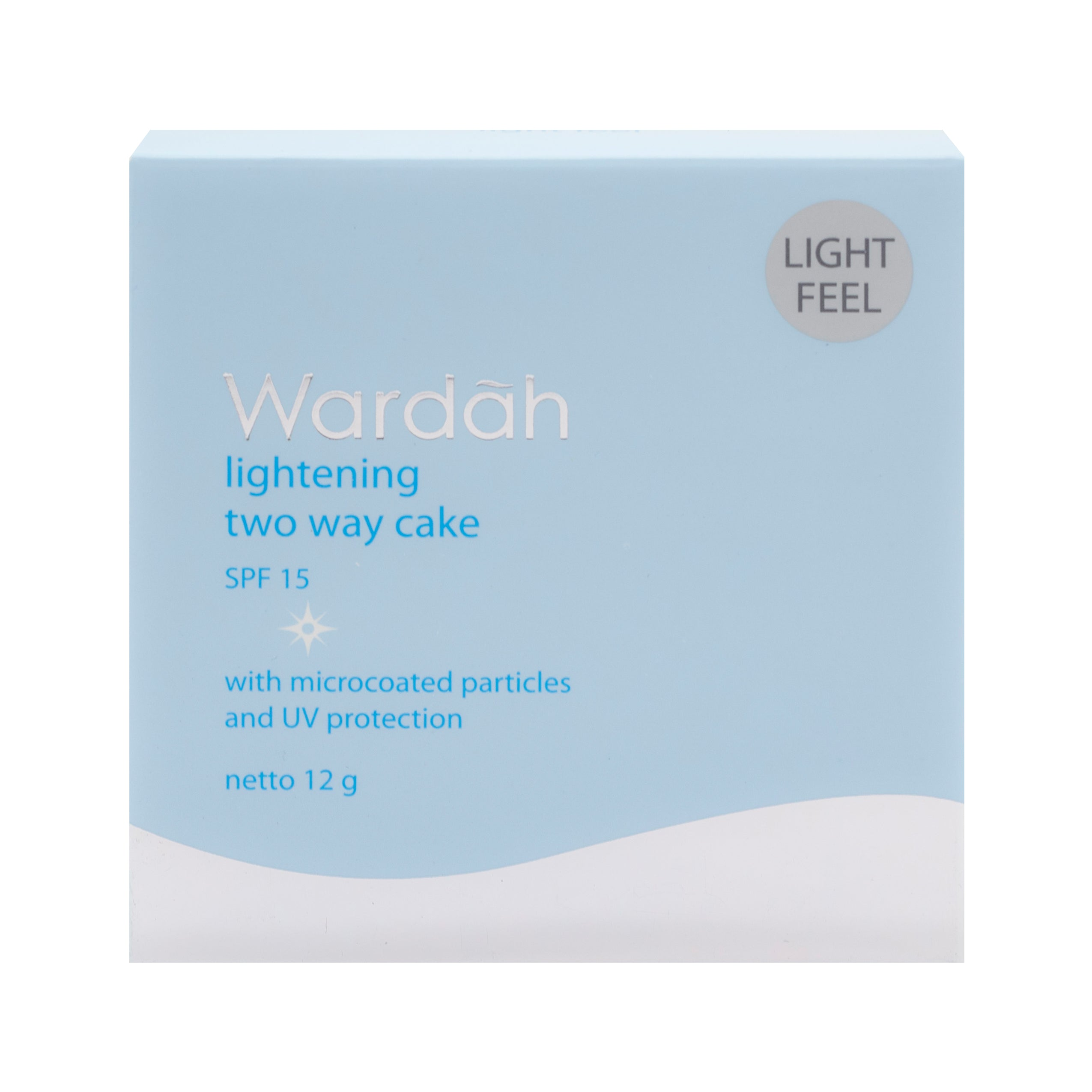 Wardah, Lightening TWC Light Feel, 01 Light Beige, 12 g