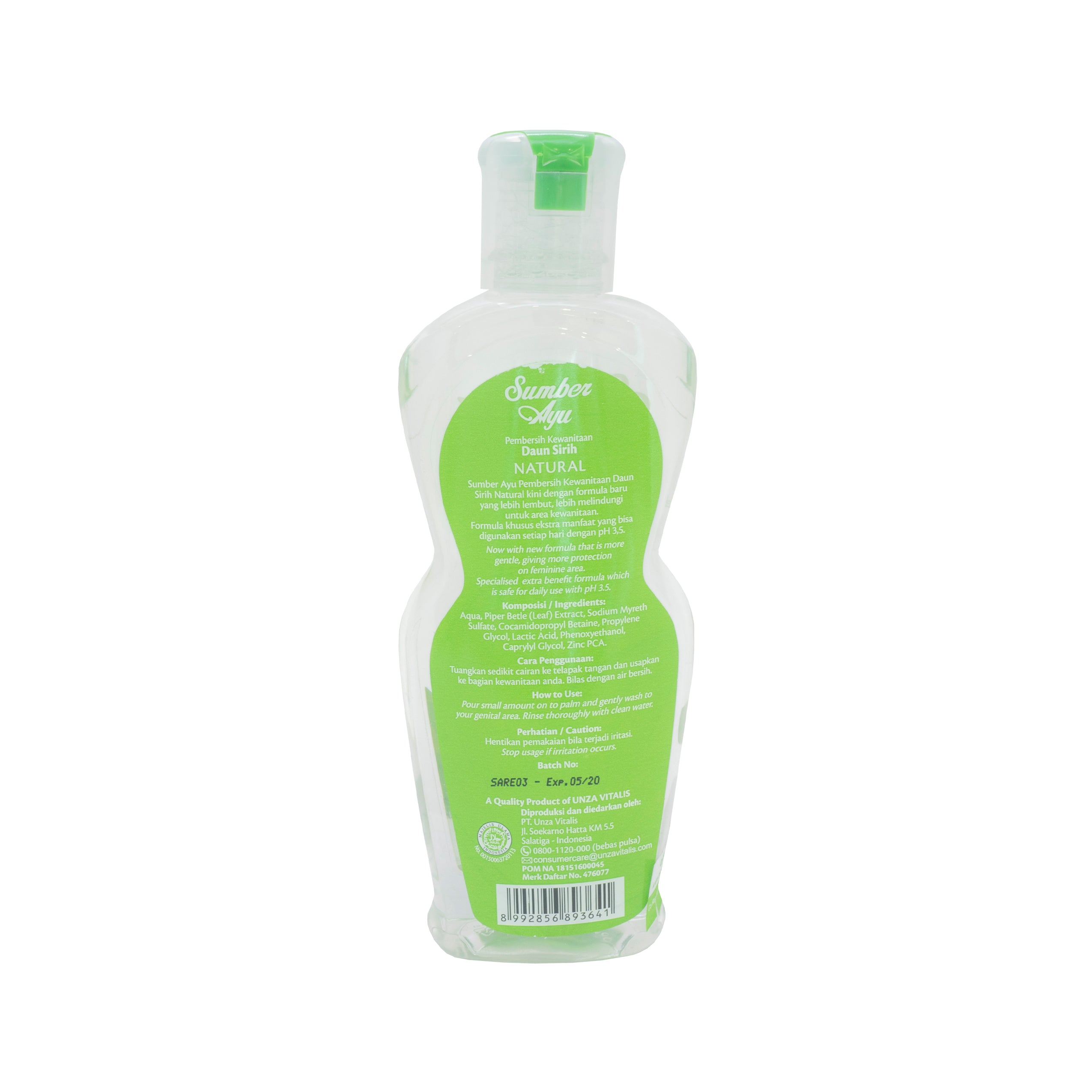 Sumber Ayu, Sabun Daun Sirih Natural, 200 ml