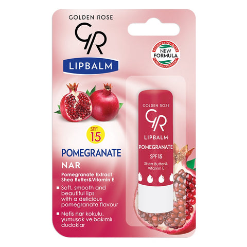 Golden Rose, Lip Balm Pomegranate SPF15, 4.6 g