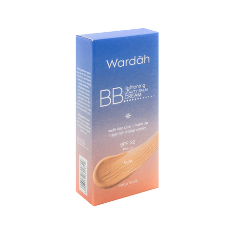 Wardah, BB Cream SPF32, Light, 30 ml