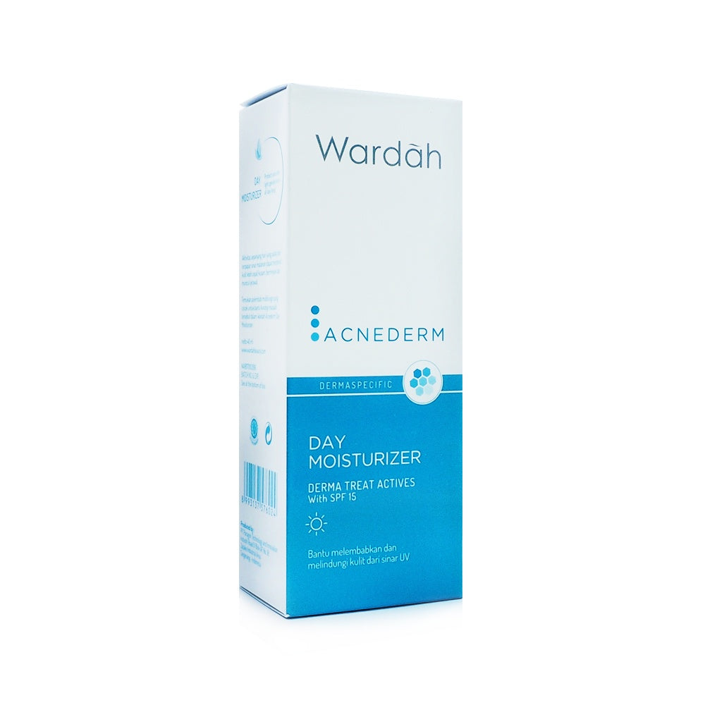 Wardah, Acnederm, Day Moisturizer, 40 ml
