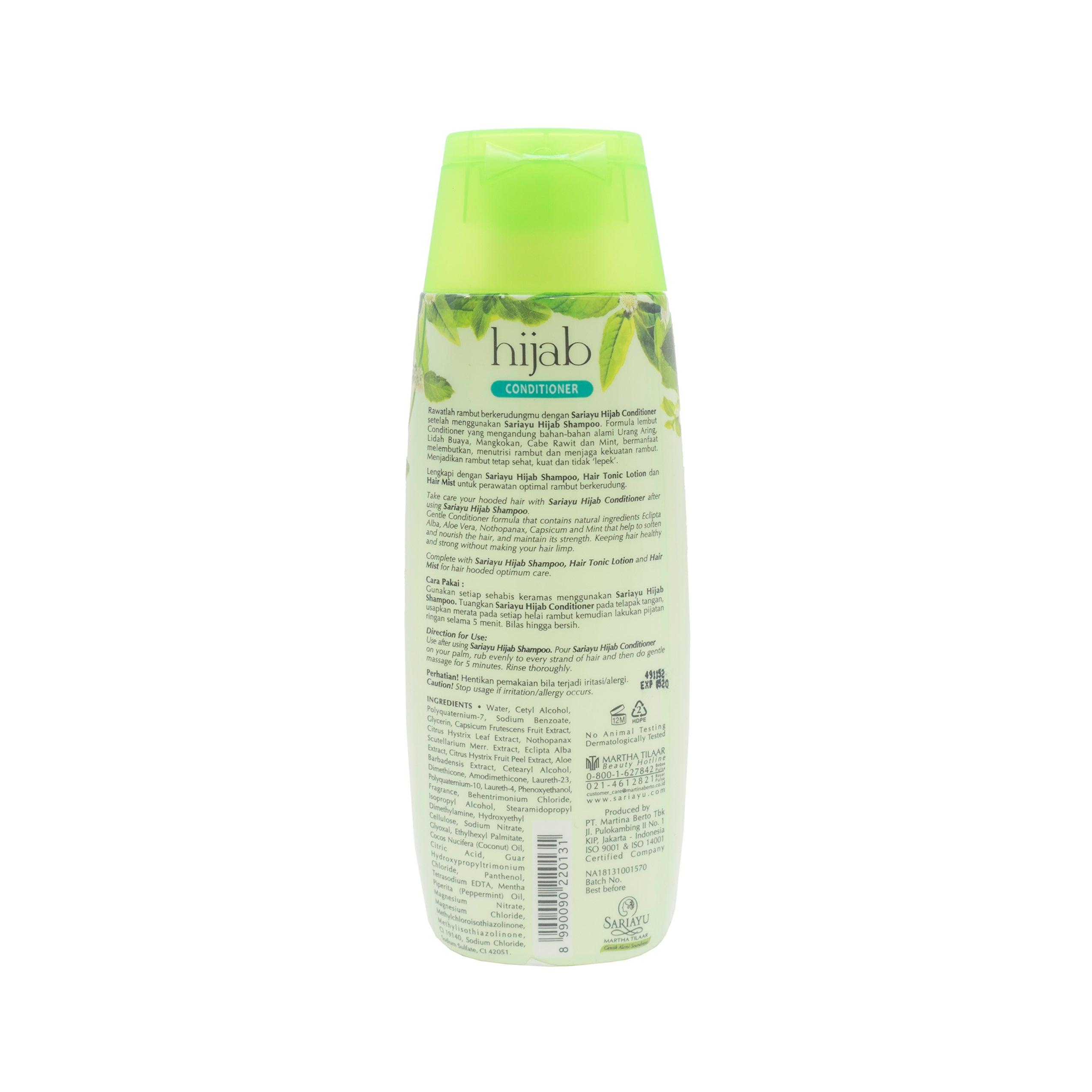 Sariayu, Hijab Conditioner, 180 ml