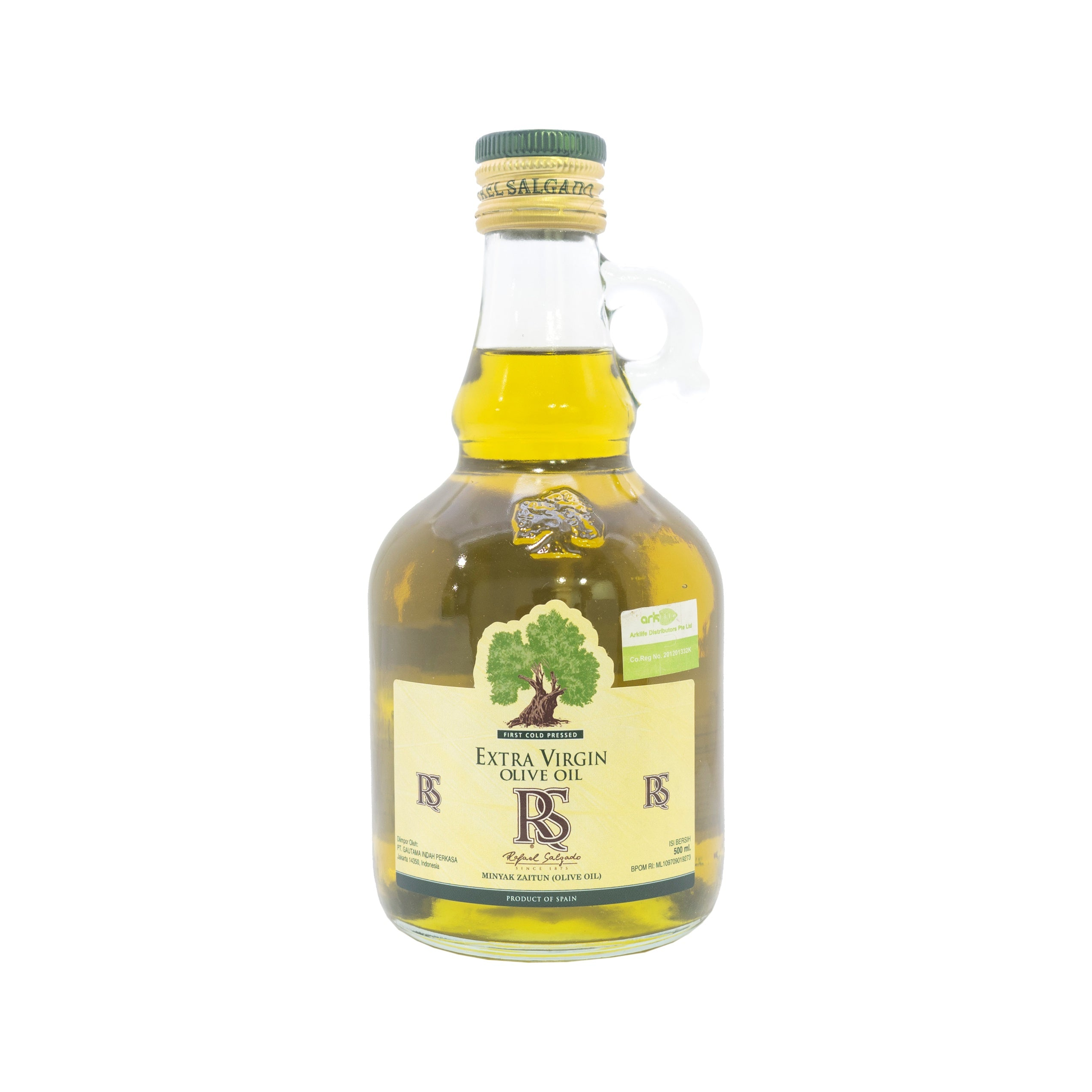 RS, Extra Virgin Olive Oil, 500 ml