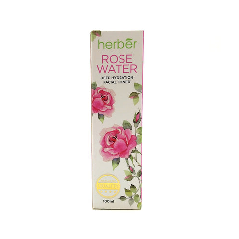 Herber, Rose Water Facial Toner, 100 ml