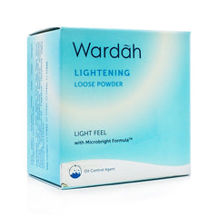 Wardah, Lightening Loose Powder, 02 Beige, 20 g