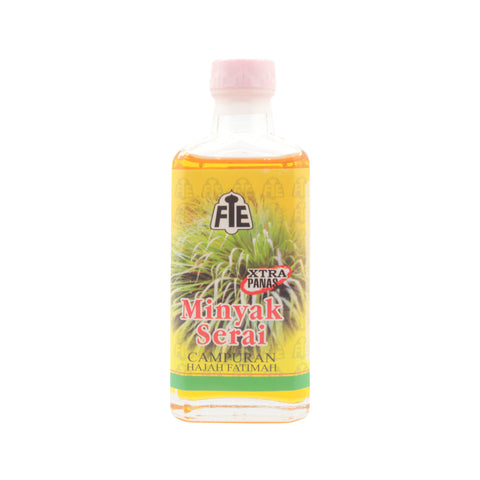 FTE, Minyak Serai, Extra Hot (yellow), 60 ml