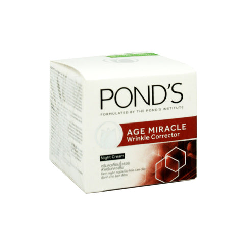 Pond's, Age Miracle Wrinkle Corrector Night Cream, 10 gm
