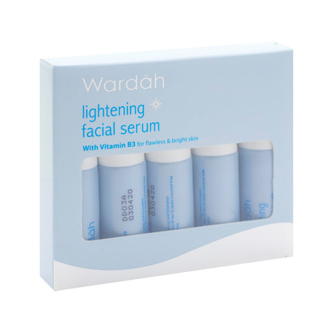 Wardah, Lightening Facial Serum, 5 X 5 ml