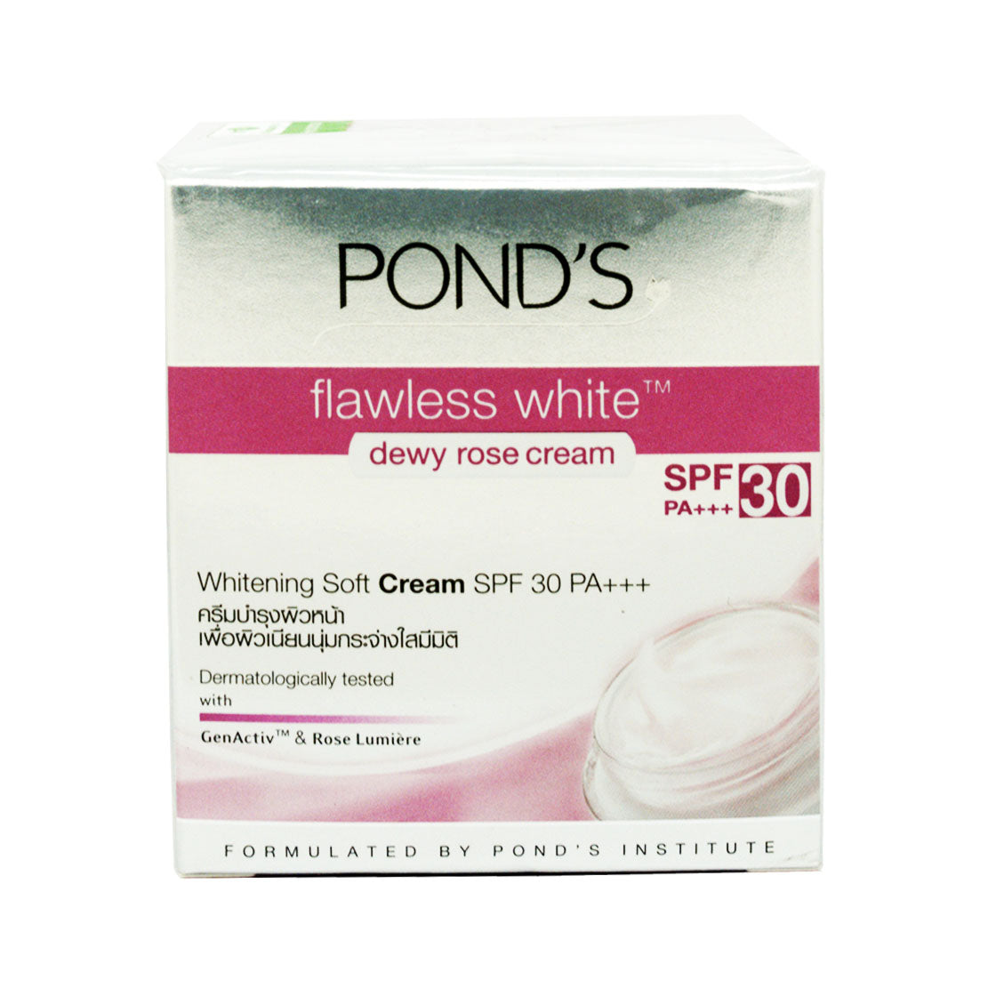 Pond's, Flawless White Dewy Rose Cream SPF30, 50 g