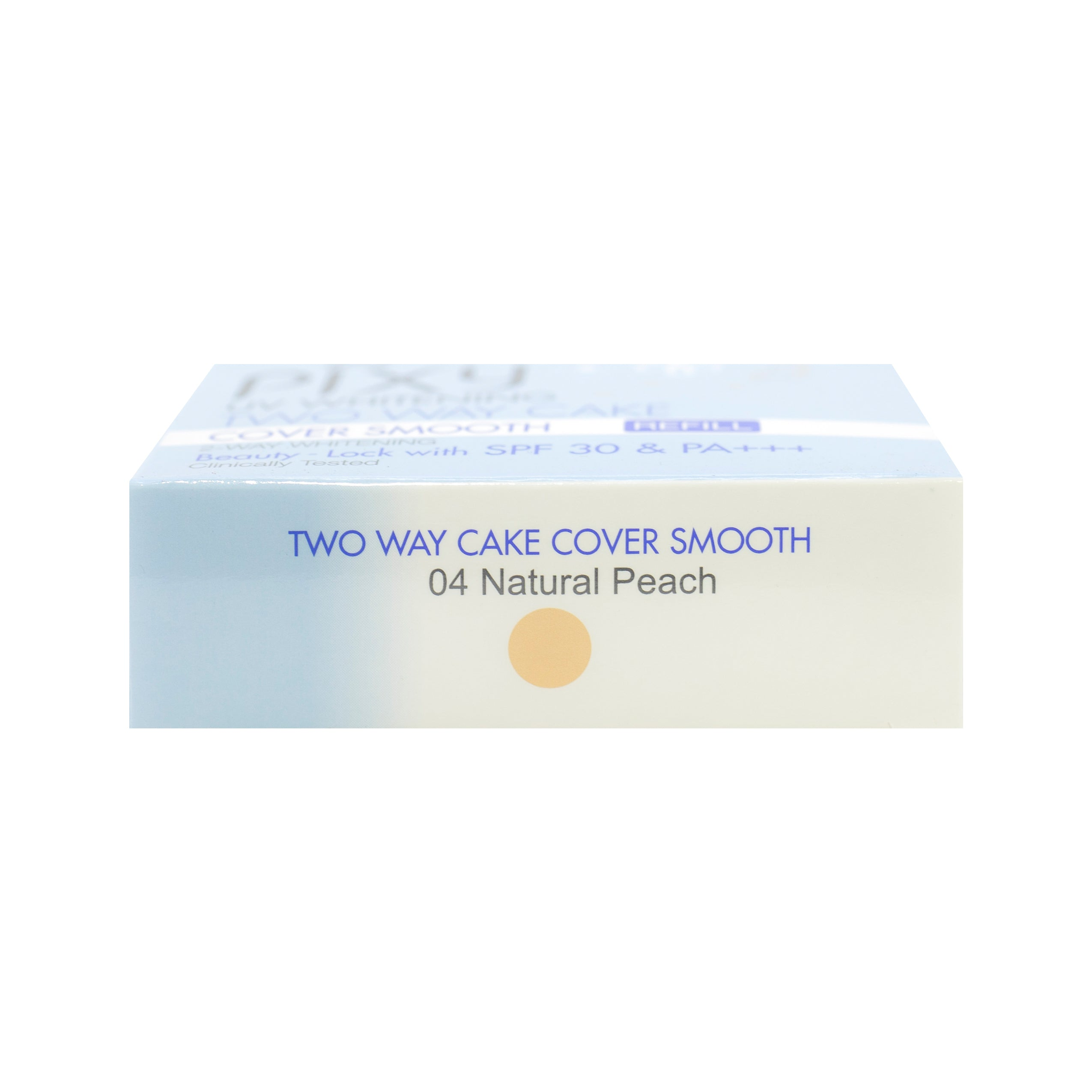 Pixy, Two Way Cake, Cover Smooth Refill, 04 Natural Peach, 12.2 g