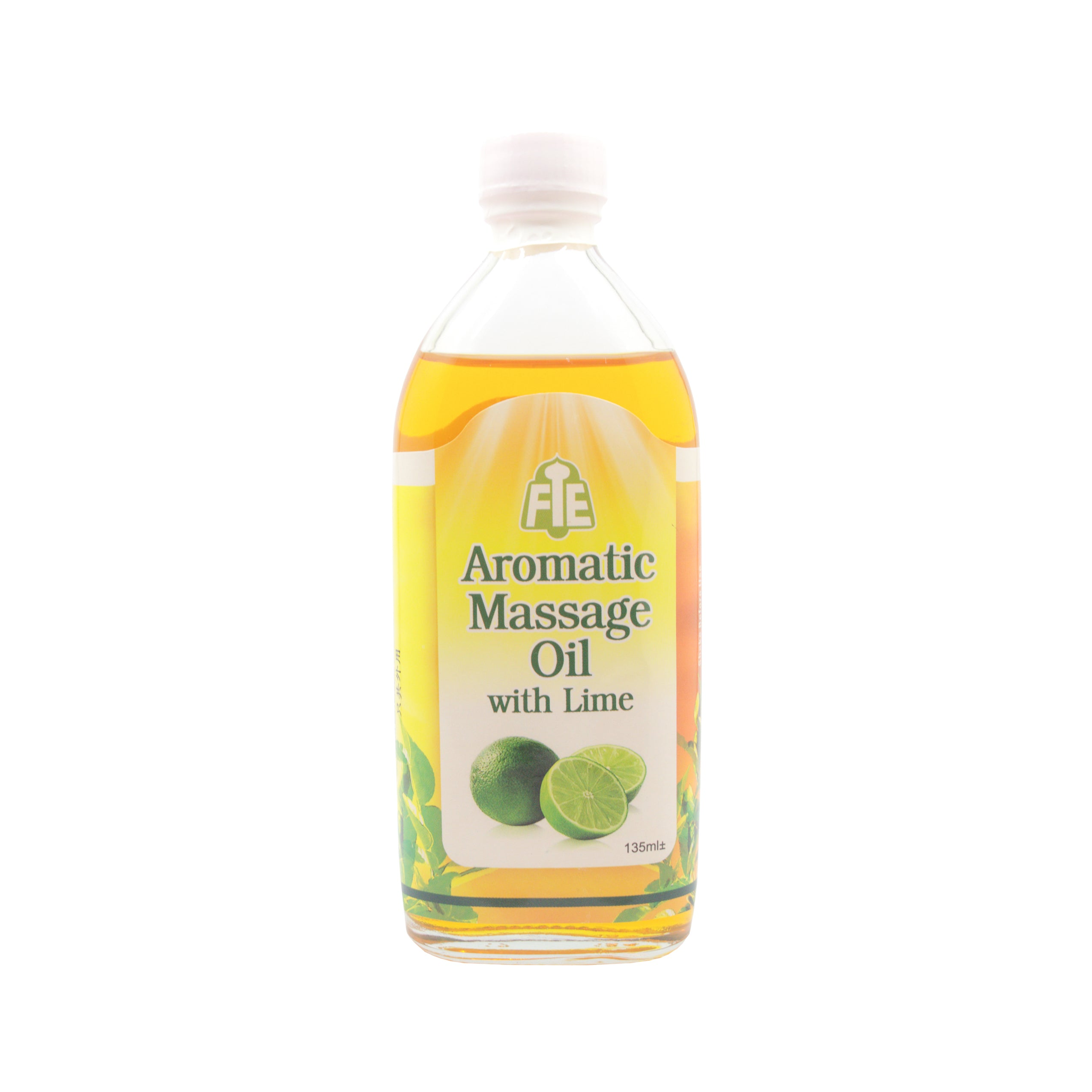 FTE, Aromatic Massage Oil, Lime, 135 ml