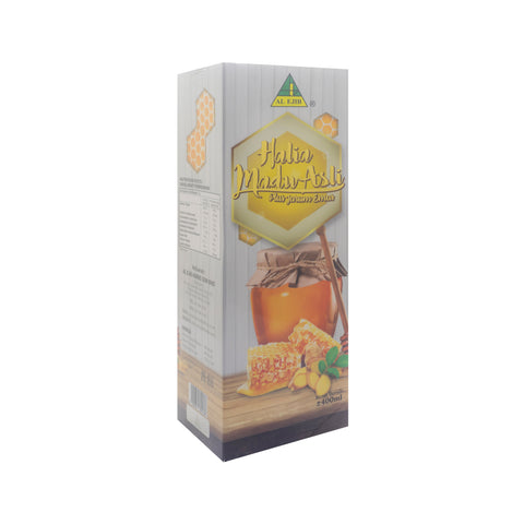 Al Ejib, Halia Madu Asli Plus Jarum Emas, 400 ml