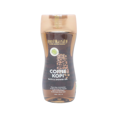 Mustika Ratu, Bath & Shower Gel, Coffee, 245 ml