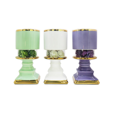 Floral Burner (Assorted Colours)