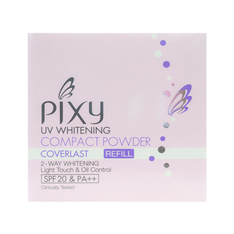 Pixy, Compact Powder Coverlast Refill, Ivory, 11 g