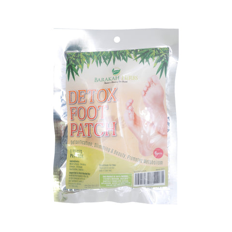 Barakah Herbs, Detox Foot Patch, 6 pcs