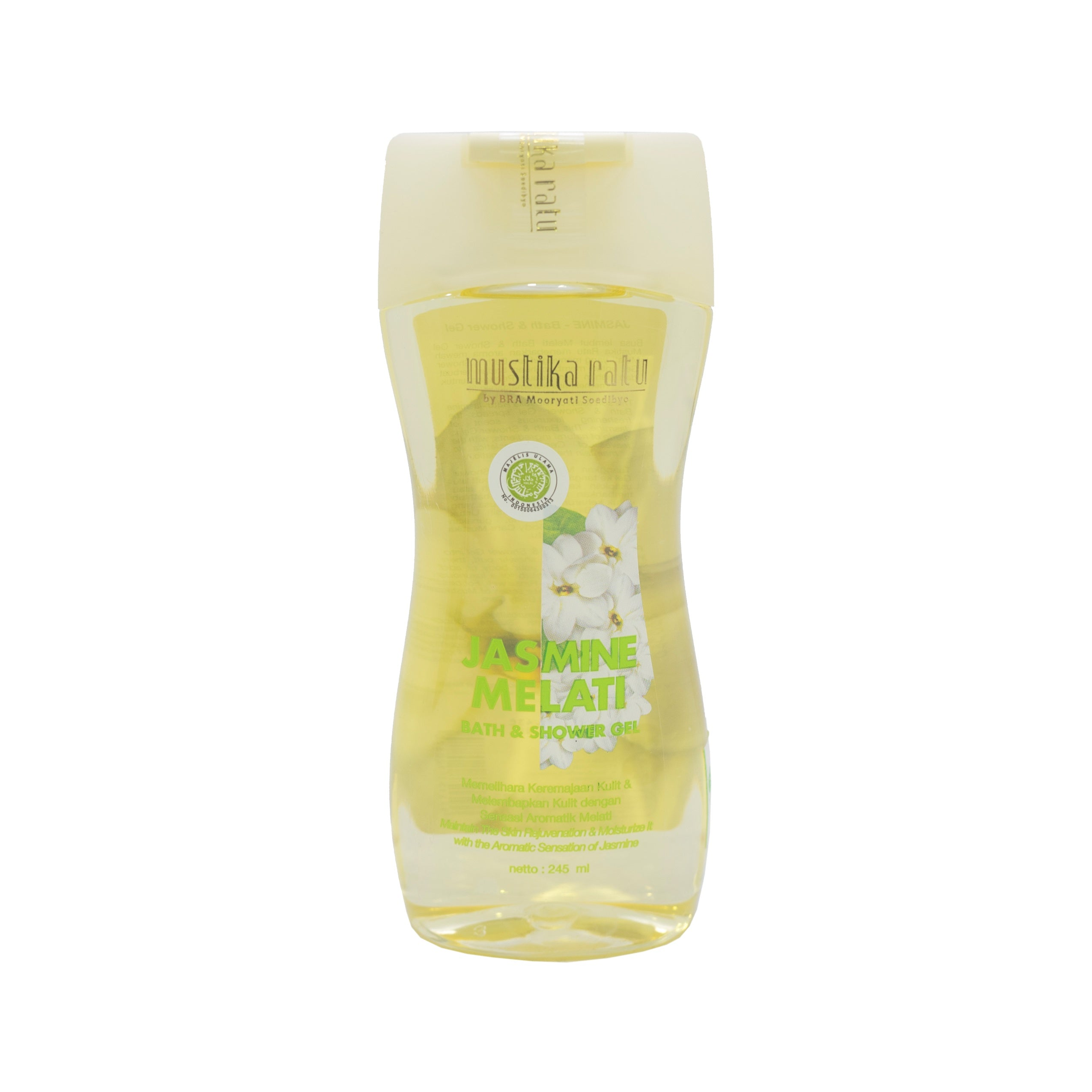 Mustika Ratu, Bath & Shower Gel, Jasmine, 245 ml
