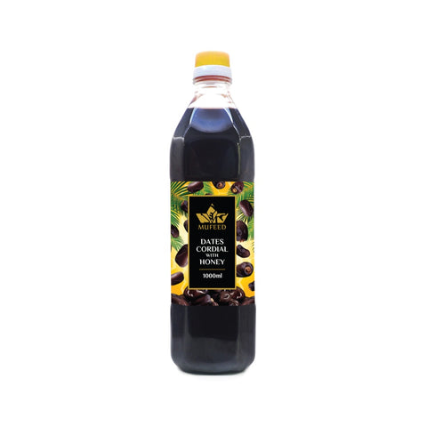 Mufeed, Dates Cordial, with Honey, 1 litre