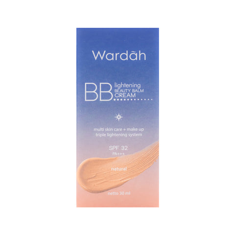 Wardah, BB Cream SPF30, Natural, 30 ml