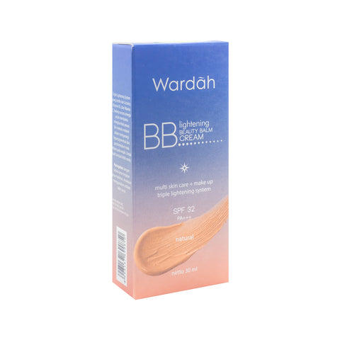 Wardah, BB Everyday Cream SPF 32, Natural, 30 ml