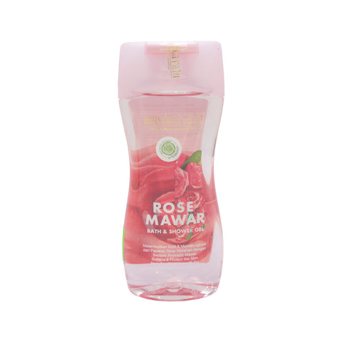 Mustika Ratu, Bath & Shower Gel, Rose, 245 ml