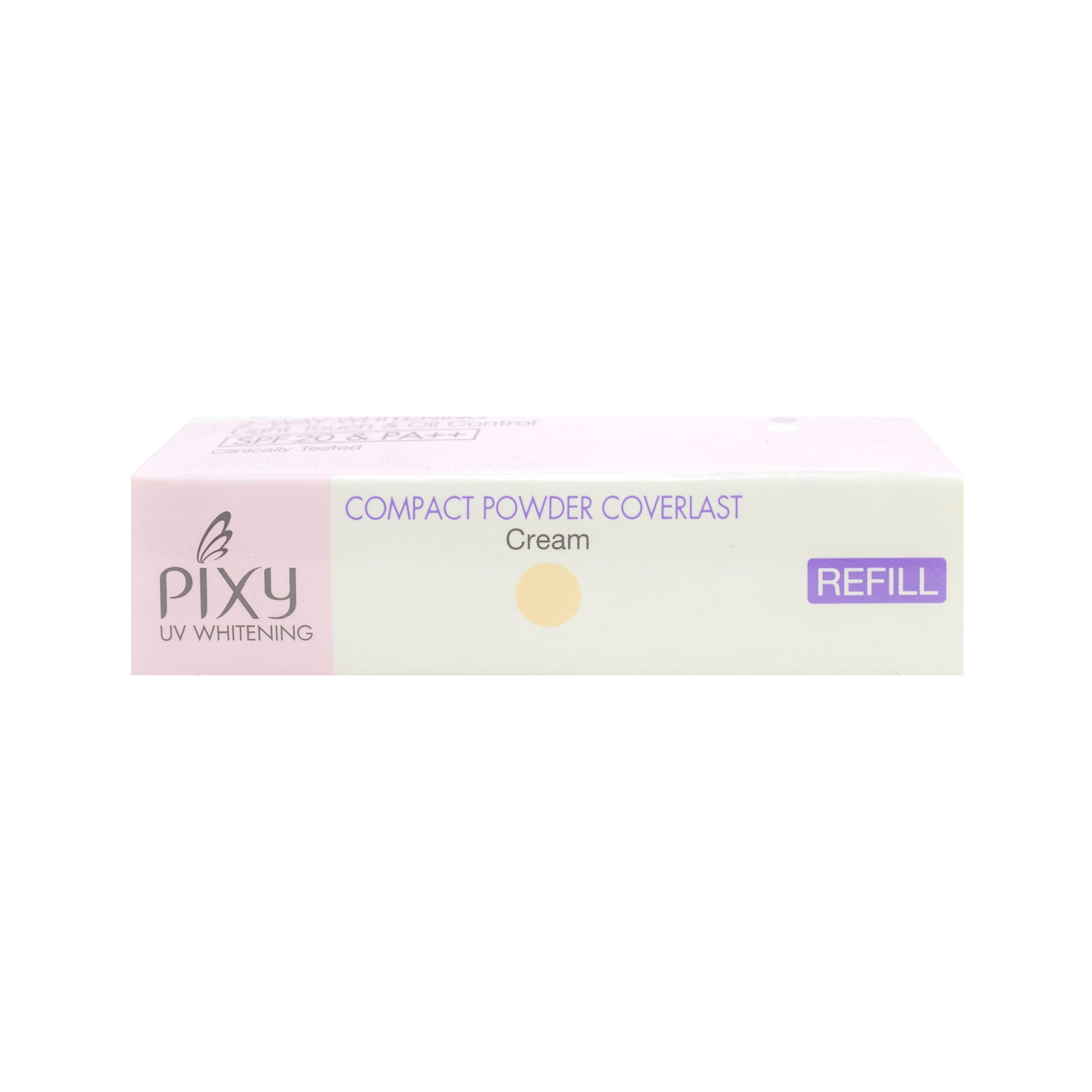 Pixy, Compact Powder Coverlast Refill, Cream, 11 g