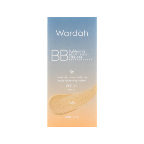 Wardah, BB Lightening Cream SPF 32, 15 ml